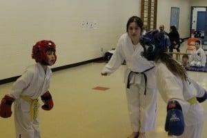 Combat enfants Taekwon-do Mont-Tremblant